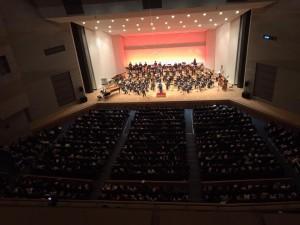 スプリングコンサート満場の客席