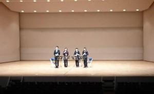 2017アンサンブルコンテスト郡山吹奏楽団クラリネット四重奏