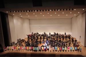 郡山吹奏楽団スプリングコンサート2018with宮川彬良スプリングコンサートアンコール薫小学校の皆さん