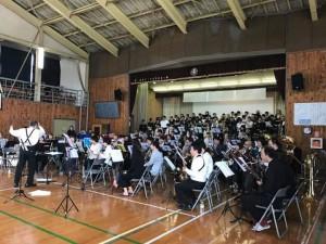 大熊中学校サヨナラ演奏会2